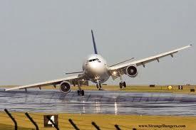Fly som lander i sterk sidevind