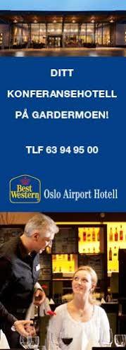 Best Western Oslo Airport – Stående