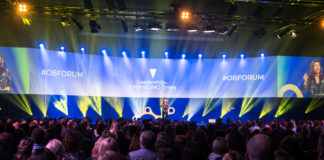 Oslo Business Forum Leadership in changing times, The Qube, Gardermoen