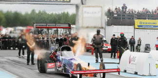 Dragracing Gardermoen. Drag race